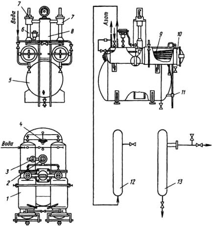 Стационарный ацетиленовый генератор АСК-1-67