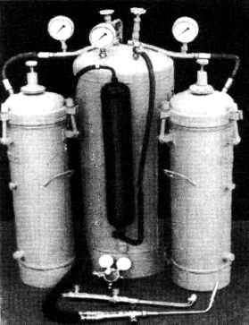 Передвижной ацетиленовый генератор КГ-1