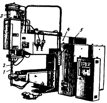 Конденсаторная точечная машина