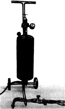 Установка для кислородно-флюсовой резки