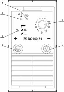 инверторный источник сварочного тока ДС 140.31
