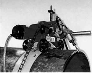 """Машина термической резки """"Орбита"""" с устройством подготовки кромок"""
