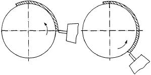 Схемы расположения электрода при сварке в СO2