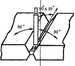 сварка стыковых соединений в нижнем положении