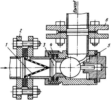 Постовой обратный клапан типа ЛЗС